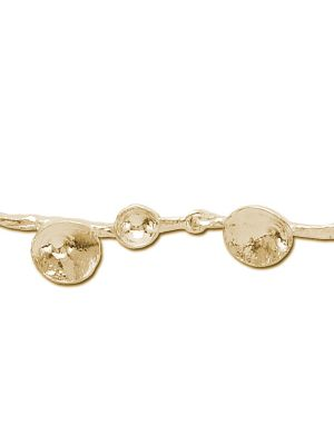 18 Kt vergulde zilveren ONNO armband | A0148PL | thumbnail image