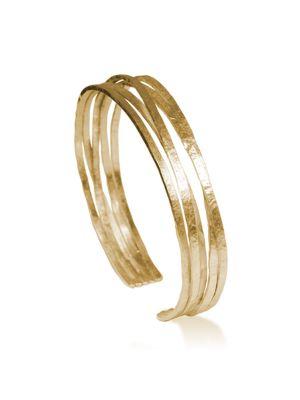18 Kt vergulde zilveren ONNO armband | A0185PL | thumbnail image