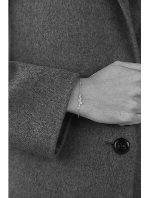 18 Kt vergulde zilveren ONNO armband | A0189PL | thumbnail image