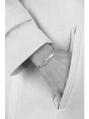18 Kt vergulde zilveren ONNO armband | A0192PL | thumbnail image