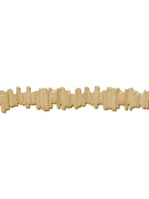 18 Kt vergulde zilveren ONNO armband | A0200PL | thumbnail image
