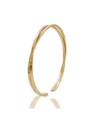 18 Kt vergulde zilveren ONNO armband | A0214PL | thumbnail image