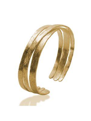 18 Kt vergulde zilveren ONNO armband | A0215PL | thumbnail image