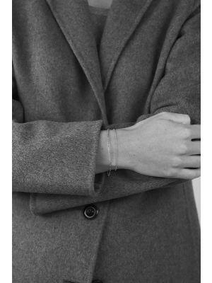 Zilveren ONNO armband met rhodium  | A0227RH | Base image
