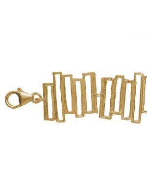 18 Kt vergulde zilveren ONNO armband | A0232PL | Base image