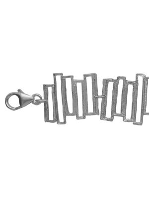 Zilveren ONNO armband met rhodium  | A0232RH | Base image