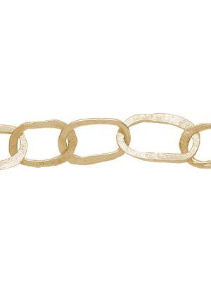 18 Kt vergulde zilveren ONNO armband | A0235PL | Base image