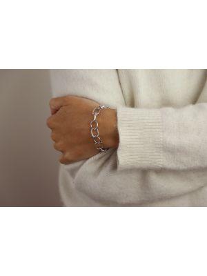Zilveren ONNO armband met rhodium  | A0236RH | Base image