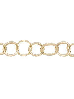18 Kt vergulde zilveren ONNO armband | A0236PL | Base image