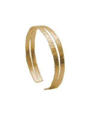 18 Kt vergulde zilveren ONNO armband | A0238PL | Base image