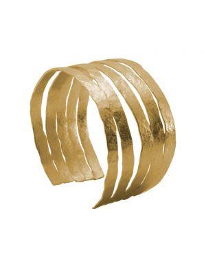 18 Kt vergulde zilveren ONNO armband | A0239PL | Base image