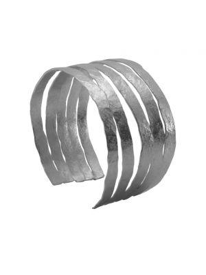 Zilveren ONNO armband met rhodium  | A0239RH | Base image