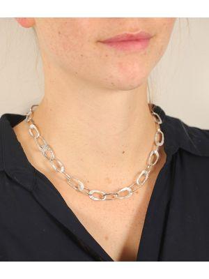 Zilveren ONNO ketting  | K0085