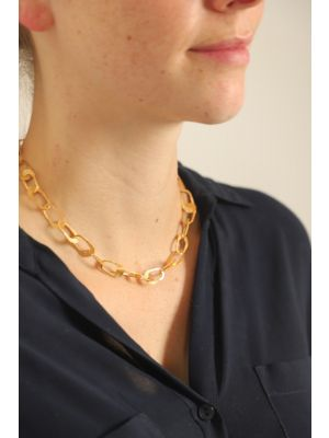 18 Kt gouden ONNO ketting  | K0085AUG
