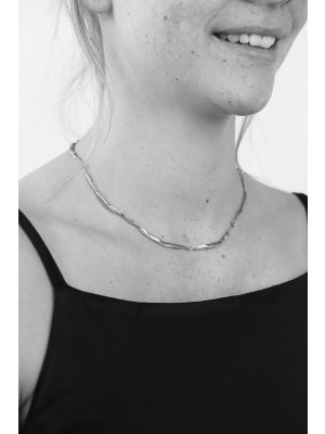 Zilveren ONNO ketting | K0132RH | thumbnail image