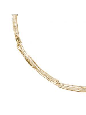 18 Kt vergulde zilveren ONNO ketting | K0194PL | thumbnail image