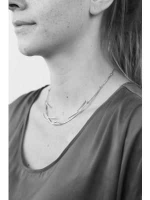 Zilveren ONNO ketting | K0216RH | thumbnail image