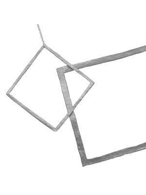 Zilveren ONNO ketting  | K0307 | Base image