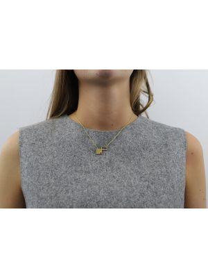 18 Kt vergulde zilveren ONNO ketting  | K0310PL | Base image