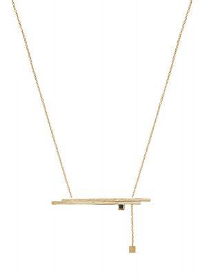 18 Kt vergulde zilveren ONNO ketting  | K0311PL | Base image