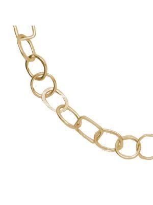 18 Kt vergulde zilveren ONNO ketting  | K0318PL | Base image