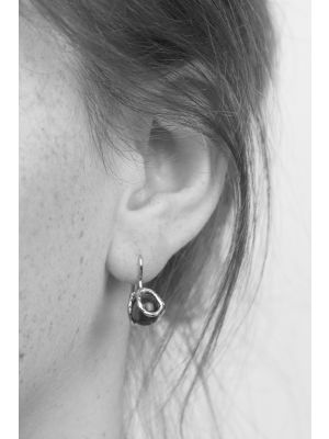 Zilveren ONNO oorhaak | OH0043BRH | thumbnail image
