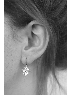 Zilveren ONNO oorhaak | OH0099 | thumbnail image