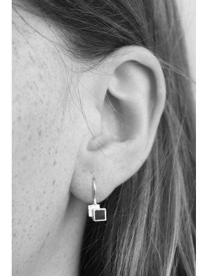Zilveren ONNO oorhaak | OH0131 | Base image