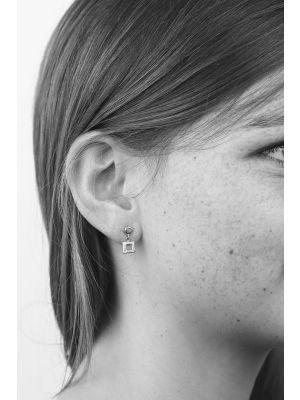 Zilveren ONNO oorsteker | OS0005RH | thumbnail image