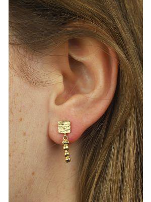 18 Kt gouden ONNO oorsteker | OS0017AUG | thumbnail image