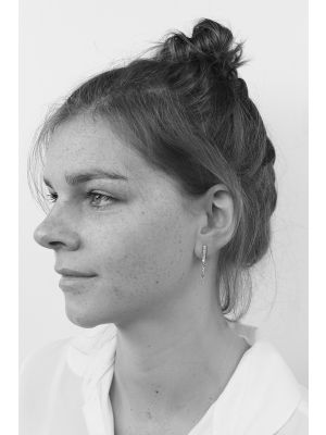 Zilveren ONNO oorsteker | OS0036RH | thumbnail image