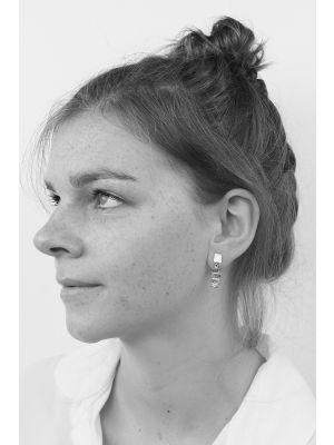 Zilveren ONNO oorsteker | OS0055 | thumbnail image