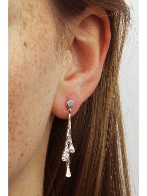 Zilveren ONNO oorsteker | OS0074RH | thumbnail image
