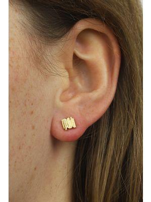 18 Kt gouden ONNO oorsteker | OS0078AUG | thumbnail image