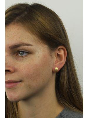 18 Kt vergulde zilveren ONNO oorsteker | OS0168PL | thumbnail image