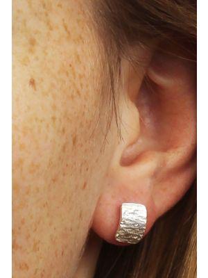 Zilveren ONNO oorsteker | OS0168RH | thumbnail image