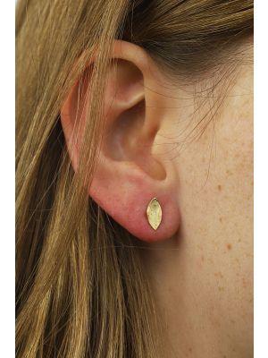 18 Kt vergulde zilveren ONNO oorsteker | OS0191PL | thumbnail image