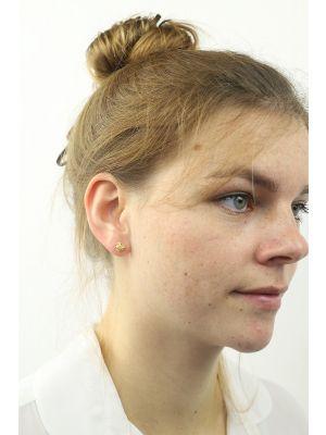 18 Kt vergulde zilveren ONNO oorsteker | OS0194PL | thumbnail image