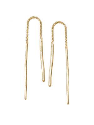 18 Kt vergulde zilveren ONNO oorsteker | OS0217PL | thumbnail image