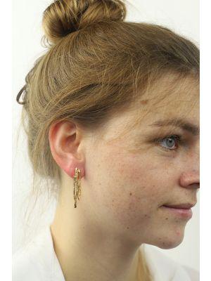 18 Kt vergulde zilveren ONNO oorsteker | OS0218PL | thumbnail image
