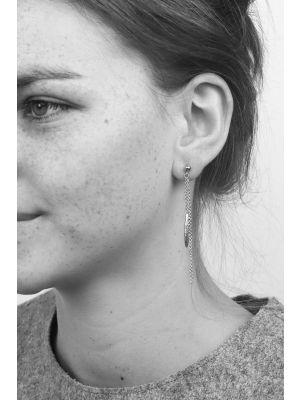 Zilveren ONNO oorsteker | OS0242RH | thumbnail image