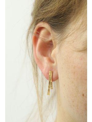 18 Kt gouden ONNO oorsteker | OS0246AUG | thumbnail image