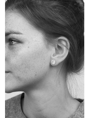 Zilveren ONNO oorsteker | OS0249RH | thumbnail image