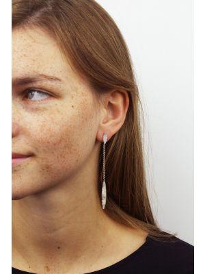 Zilveren ONNO oorsteker | OS0259RH | thumbnail image
