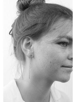 Zilveren ONNO oorsteker | OS0289RH | thumbnail image