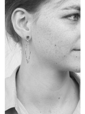 Zilveren ONNO oorsteker | OS0297RH | thumbnail image