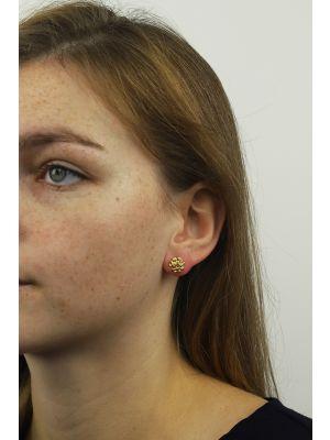 18 Kt vergulde zilveren ONNO oorsteker | OS0323PL | thumbnail image