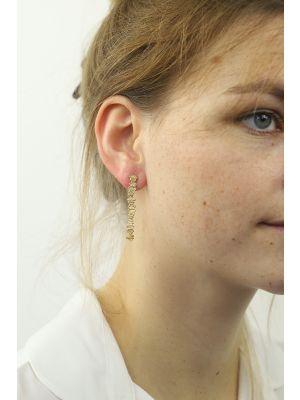 18 Kt vergulde zilveren ONNO oorsteker | OS0346PL | thumbnail image
