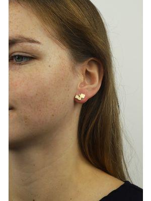 18 Kt gouden ONNO oorsteker | OS0349AUG | thumbnail image