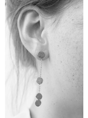 Zilveren ONNO oorsteker | OS0356RH | thumbnail image
